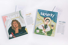Load image into Gallery viewer, 2 Bravery Magazines Bundle (Issues 8 & 9) + Conversation Guides