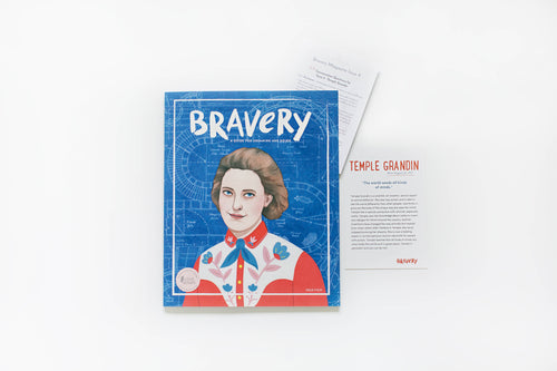 PERSISTENCE: Bravery Magazine Issue 4 – TEMPLE GRANDIN + Conversation Guides
