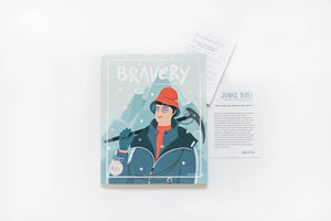 TENACIOUS: Bravery Magazine Issue 6 – JUNKO TABEI + Conversation Guides