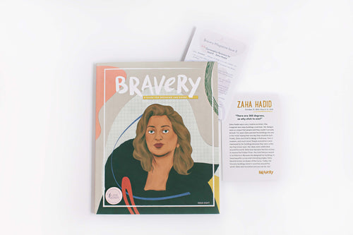 INNOVATIVE: Bravery Magazine Issue 8 – ZAHA HADID + Conversation Guides