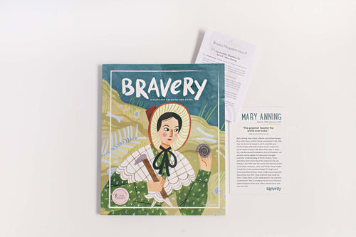 HARDWORKING: Bravery Magazine Issue 9 – MARY ANNING + Conversation Guides