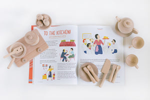 EnStories Cookery Set x Bravery Mag Issue 7 Bundle – Conversation Guides + Recipe Guides (UP: $109)
