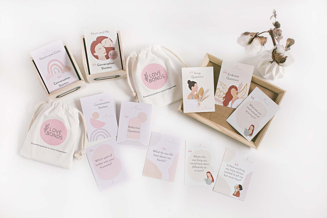 Conversation Starters Bundle [Parent-and-child (full version) + Mum-and-Me]