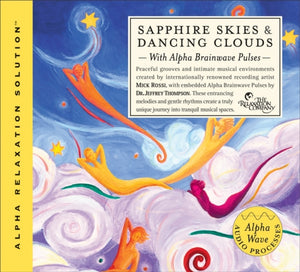 Sapphire Skies and Dancing Clouds