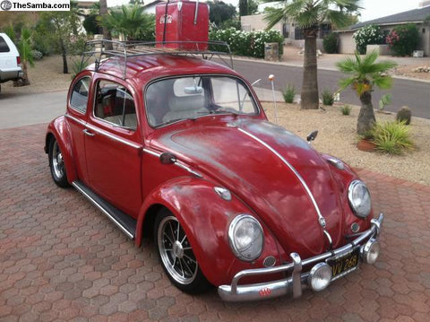 1963 Ruby Red Patina Bug
