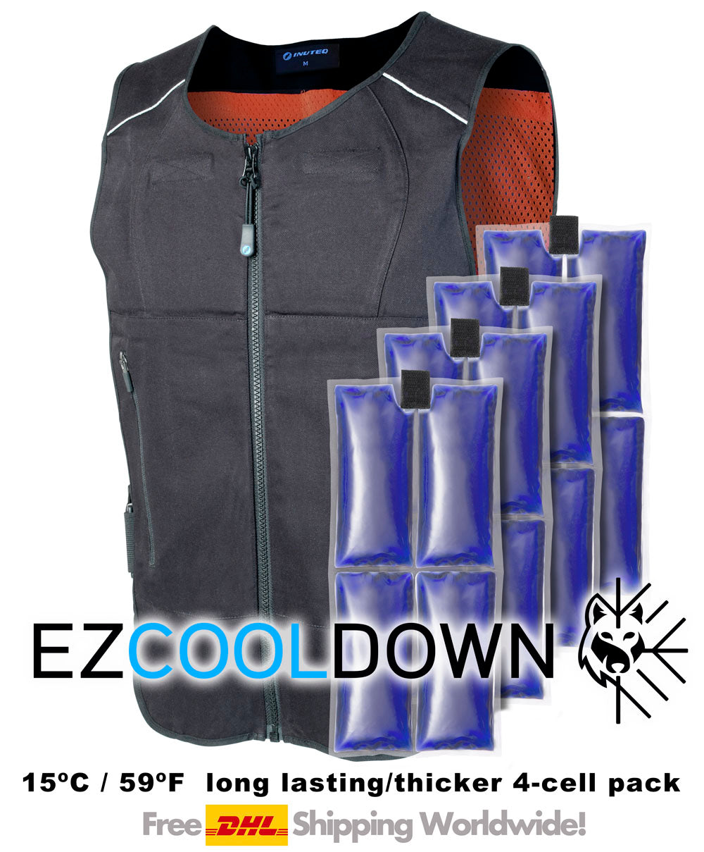 Complete BodyCool Pro PCM Cooling Vest