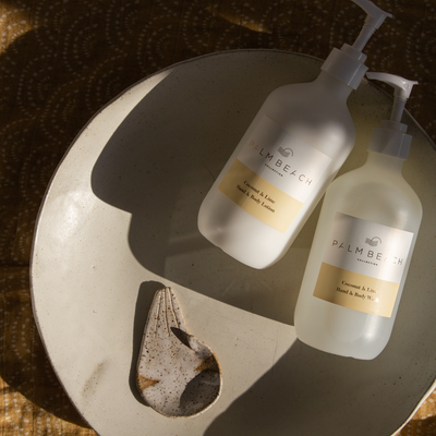 Coconut & Lime <br> Wash & Lotion Gift Pack