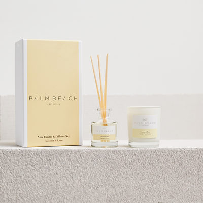 Coconut & Lime <br> Mini Candle & Diffuser Gift Pack