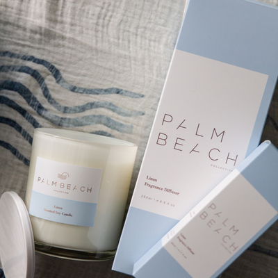 Linen <br> 420g Standard Candle