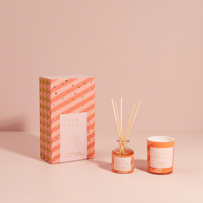 Passion Flower Fizz Mini Candle & Diffuser Gift Pack