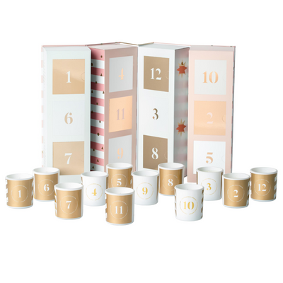 Christmas Advent Candle Calendar
