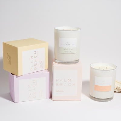 Sea Salt <br> 850g Deluxe Candle