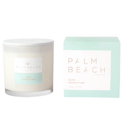Sea Salt <br> 1800g Deluxe Candle