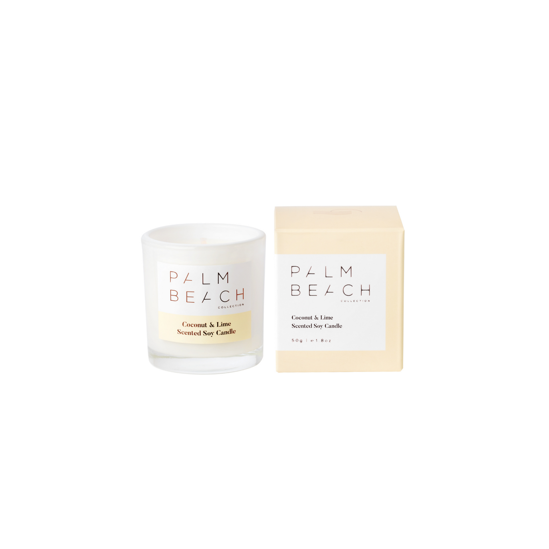 Coconut & Lime <br> 50g Extra Mini Candle