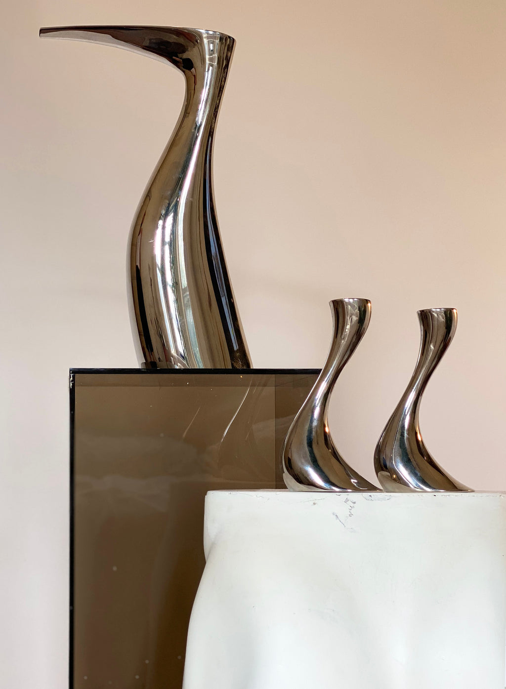 Georg Jensen Ibis Pitcher by Allan Scharff