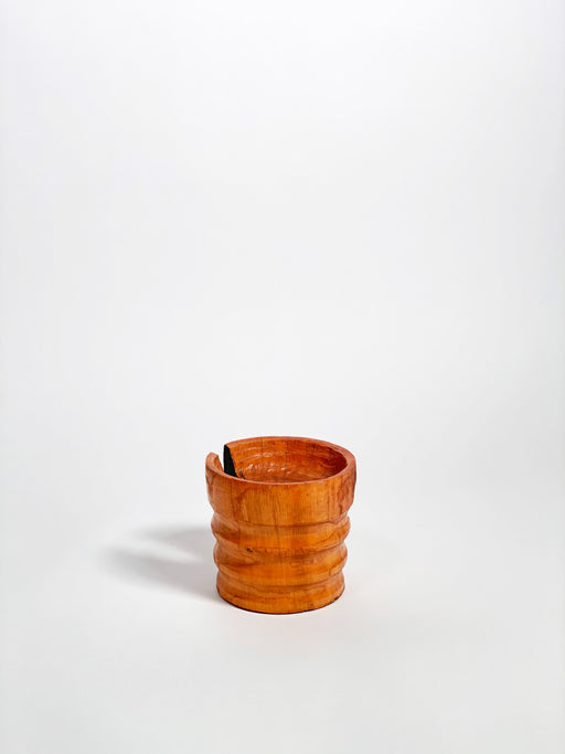Robur Oak Ribbed Bowl by Tucker Robbins