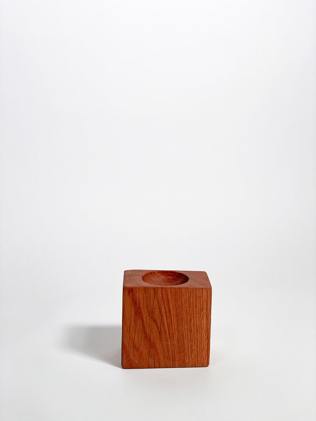 White Oak Square Bowl by Tucker Robbins