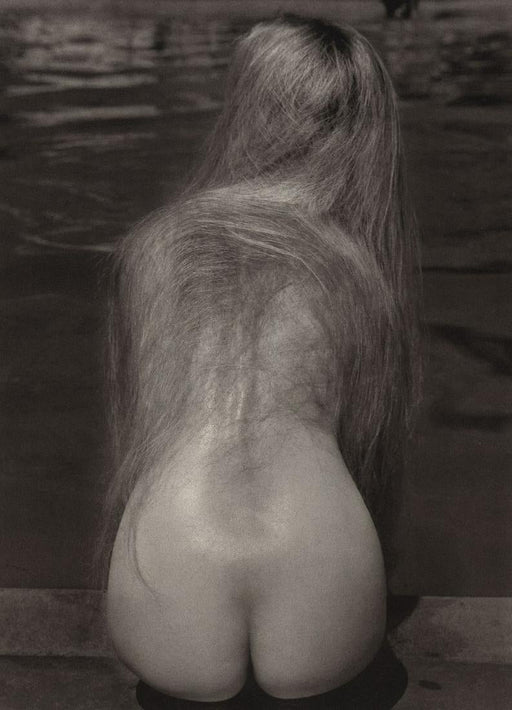 "Ruth Bernhard Photography, ""At the Pool"", 1951. Duotone Photoengraving, 7"" x 9 """