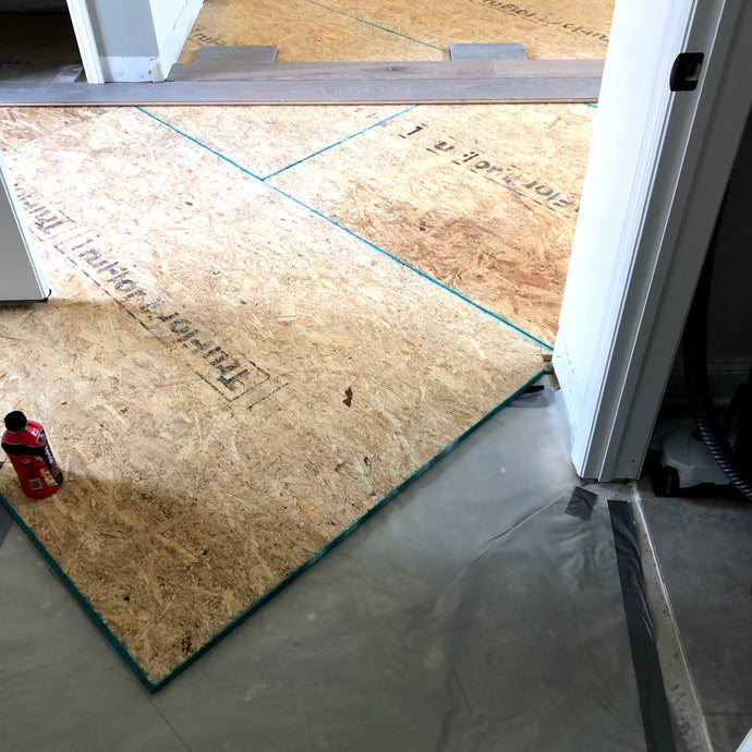 Installing Hardwood Flooring on a Concrete Slab