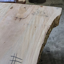 Load image into Gallery viewer, Sycamore Slab #16501 Spalted