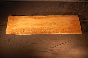 Wormy Oak Slab #13915
