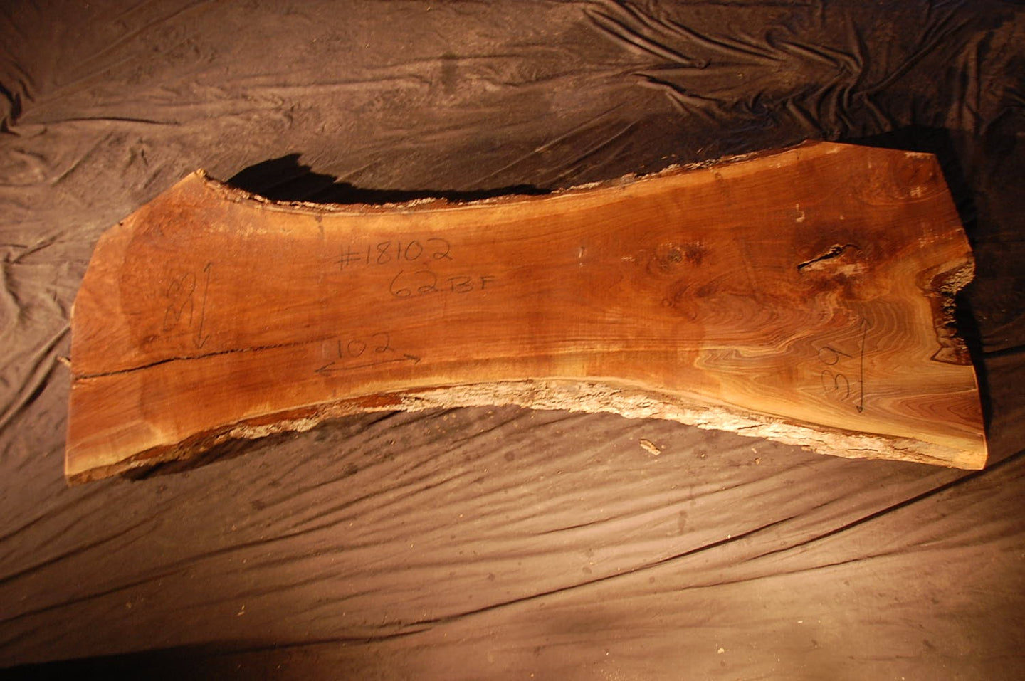Walnut Slab #18102