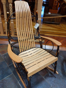 Jumbo Rocker Oak and Hickoy