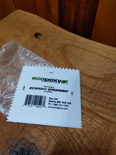 EcoPoxy Notched Spreader