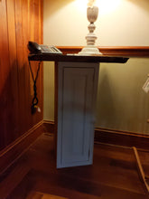 Load image into Gallery viewer, Cabinet End Table with Rustic Cherry Top