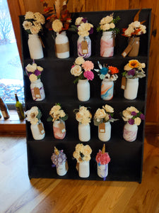 Wooden Flower Arrangements
