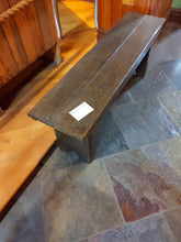 Load image into Gallery viewer, Distressed Oak Farm Bench
