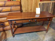Load image into Gallery viewer, Sofa Table in Anerican Cherry SALE