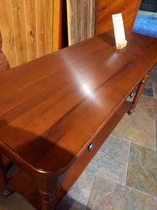 Sofa Table in Anerican Cherry SALE