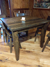 Load image into Gallery viewer, Rustic Oak Farm Table