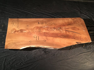 White Oak Slab #16104
