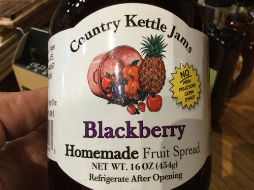 Country kettle jam