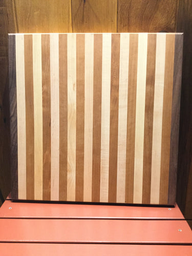Cutting Board Walnut Cherry Maple Accent
