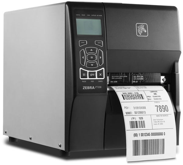 Zebra ZT230 Barcode Printer - 300DPI