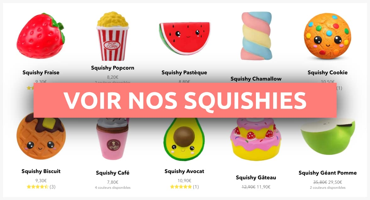collection de squishies