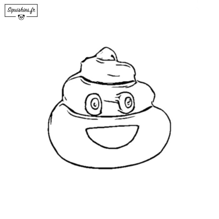 Coloriage Squishy Squishies