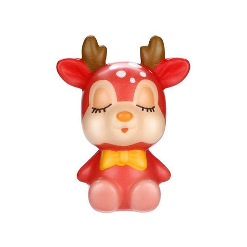 squishy cerf rouge