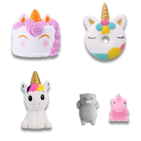 squishy lot licorne miracle