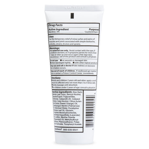 Corganics Relief Cream - 4 oz. Tube