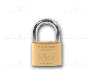 VIRO 304.PV - Rectangular Padlock - Patented Key