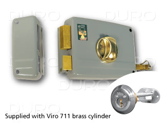 VIRO 1.7604.1.712.2 - Rim Door Lock - Inward Left Hand