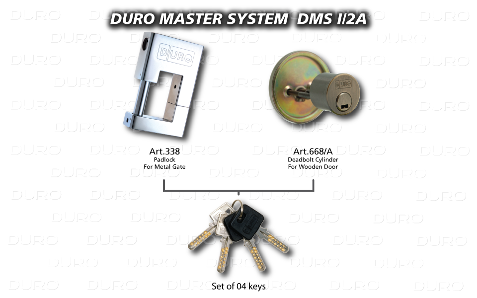 DMS I/2A  Duro Master System - Art.338 + Art.668/A