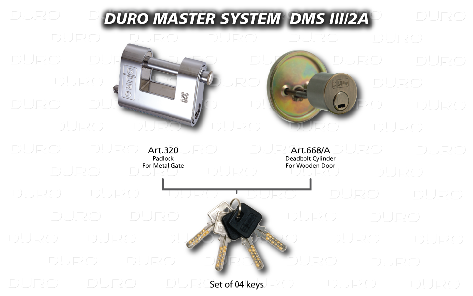 DMS III/2A  Duro Master System - Art.320 + Art.668/A