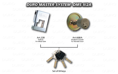 DMS II/2A  Duro Master System - Art.228 + Art.668/A