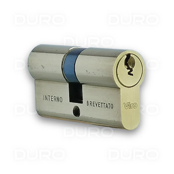 VIRO 727.PV - Euro Profile Double Cylinder - Brass Body - Patented Key