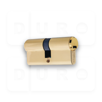Art.778/63/G Euro Profile Double Cylinder - PVD Gold
